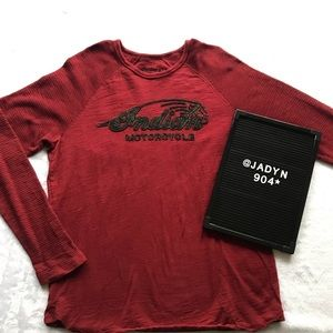 Indian Motorcycle for Lucky Brand  Long Sleeve
